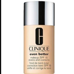 Clinique even better makeup wn38 Stone